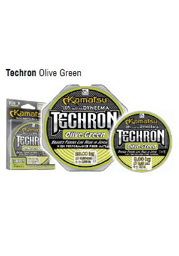 Шнур Techron Olive Green