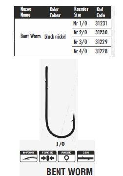 bent worm